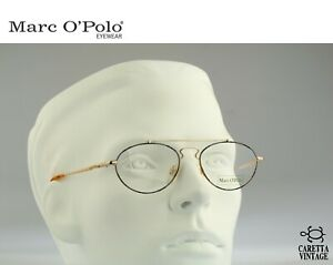 Marc O'Polo by Metzler 0067 825 Vintage 90s small oval aviator eyeglasses frames