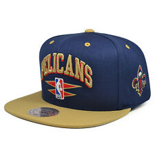 separation shoes 2b597 cdc8d New Orleans Pelicans Diamond Arch Snapback Mitchell   Ness NBA Hat