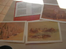 affiche  6 reproduction  egypte david roberts