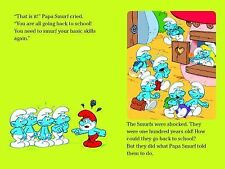 Off to School! (Smurfs Classic), Peyo, 144242138X, Book, Good