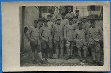 CPA PHOTO: Soldats du 3° Régiment du Génie / Guerre 14-18 / 1918