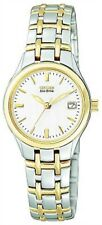 Citizen Watch Womens Eco-drive Two Tone Stainless Steel Bracelet 25mm