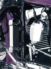 JAGG 2006-2015 Harley-Davidson FLHX Street Glide OIL COOLER SYSTEM CHROME 750-11