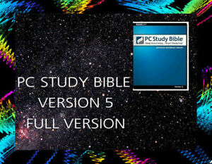 PC Study Bible 5 Advanced Reference Library / Software /Win / Full Version