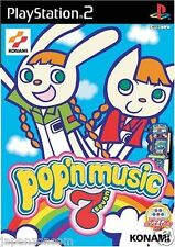 Used PS2 Pop'n Music 7 KONAMI  SONY PLAYSTATION 2 JAPAN IMPORT