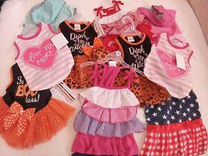 dog clothes/ Dress/ costume/ rain jacket/Small/ Medium/ Small/ pink/ red/ cute/