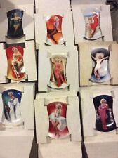 Marilyn Monroe, Delphi plate collection (10)-includes commemorative issue