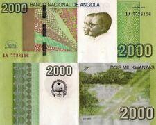 ANGOLA 2000 Kwanzas 2012 (2017) - Dande Falls, P157, UNC, New Signature