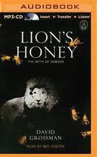 The Myths: Lion's Honey : The Myth of Samson 5 by David Grossman (2015, MP3...