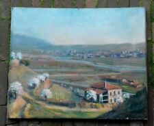 Oil Painting on Canvas - by Catalan Artist Vincenc Casals Grau 1916 - 1951  -