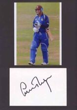 Surrey Cricket Autographed Signed Cricket Photos
