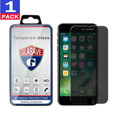 1Pack GLASAVE iPhone 8 Plus 5.5 Anti Spy Privacy Tempered Glass Screen Protector