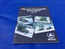 1992 Arctic Cat Kitty Cat Snowmobile Printed Factory Service Shop Repair Manual