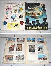 Album IL MONDO IN CASA Serie Prima ALBI RAMA 259/288 figurine Non completo