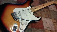 "HARMONY STRATOCASTER ELECTRIC GUITAR IN "" VINTAGE THREE TONE SUN BURST"""