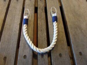 Curtain Tie Back-White- Nautical Beach Coastal Decor
