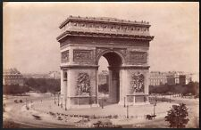 France. Paris - L'Arc de Triomphe. Photographe anonyme. Vers 1880