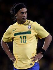 POSTER RONALDINHO MILAN BARCELLONA BRASILE MINEIRO SOCCER FOOTBALL CALCIO FOTO 1