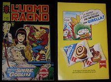 ***L'UOMO RAGNO*** ED.CORNO N.258 (1980) CON ADESIVI !!!