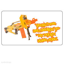 Personalised Nerf Gun Kids Birthday Thank You Party Bag Address Stickers- 164