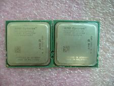 Matched Pair QTY 2x AMD OSA2222GAA6CX Dual CORE OPTERON 2222 Socket F 1207