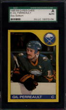 1985-86 O-Pee-Chee OPC Box Bottom K Gil Perreault SGC A Authentic 16402