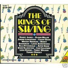 THE KINGS OF SWING /HARRY JAMES/GLENN MILLER 5 CDS 6426