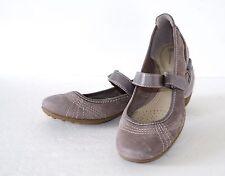 Giani Bernini Caprice Taupe Mary Jane Comfort Flat Shoes 9.5M