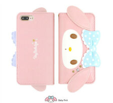 Hello Kitty My Melody 3D Face Card Leather Slim Diary Case For Apple iPhone X 10