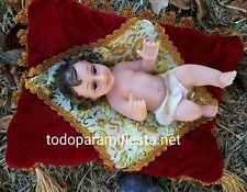 Baby Jesus Figurine Christmas Holiday Jesus Nino Dios Figura