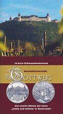 Österreich 10 Euro 2006 Silber Stift Göttweig hgh im Blister