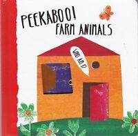 Farm Animals Peekaboo! Board Book