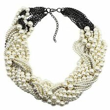 Pearl Chunky Costume Necklaces & Pendants