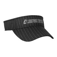 Sage Fly Fishing Rod Reel Herringbone Visor / Hat - Color Black / Grey - NEW!