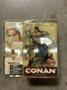 2004 New MOC McFarlane Toys Conan Skifell Series 1