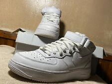 All White Air Force 1 Mid Size 9