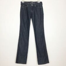 7 For All Mankind Women's Size 25 Colette Dark Wash Straight Leg Jeans