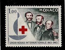 MONACO #537 MNH VF OG International Red Cross Centenary ~ Centenary Emblem 1963