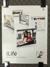 "RARE SPANISH!!!!  --- Apple Computer POSTER --- ""iLife '06"" -- Macintosh -- 2006"