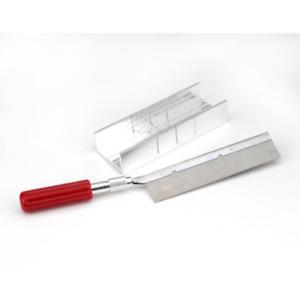 ELMERS X75320 Mitre Box Set Small, Silver