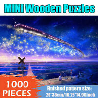 1000PCS mini Jigsaw Puzzles Landscape Decompression Difficulty Toy Star Train
