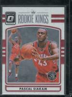 Pascal Siakam 2016-17 Panini Donruss Optic Kings #22 Rookie Toronto Raptors