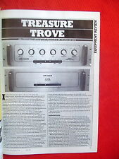 "Audio Research SP-10 preamplifier review ""Hi-Fi News & Record Review"" 5/84"