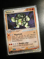 PL Pokemon GOLEM EX Card DRAGON Set  91/97 Ultra Rare Holo TCG 160 HP