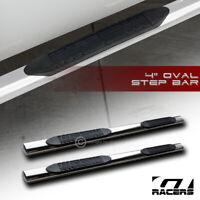 """4"""" Oval Chrome Side Step Nerf Bars Rail Running Boards For 2006-2012 Toyota Rav4"""