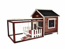 Chicken Coop Kit Run Hen House Poultry Rabbit Bunny Hutch Cage Nesting Box Fence