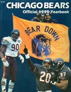 1995 Chicago Bears Official Team Yearbook