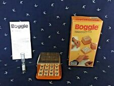Boggle Collectable Vintage Word Board Game by Parker 1978  excellent condition