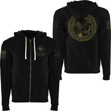Grunt Style Patriot Seal Full Zip Hoodie - Black