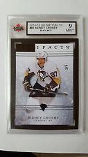 Sidney Crosby 2014-15 UD Artifacts Black Exclusives 1/5 KSA Graded 9!!!!
